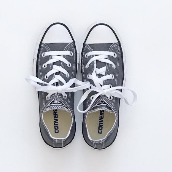 4cc7cc7b6dfa Converse Shoes - NWOT Charcoal Chuck Taylor All Star Converse 5J794